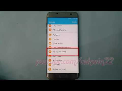 Samsung Galaxy S7 Edge : How to change location (GPS) method (Android Marshmallow)
