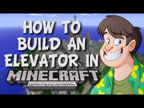 Minecraft: How to Build an Elevator / Portal (Xbox 360 Edition)
