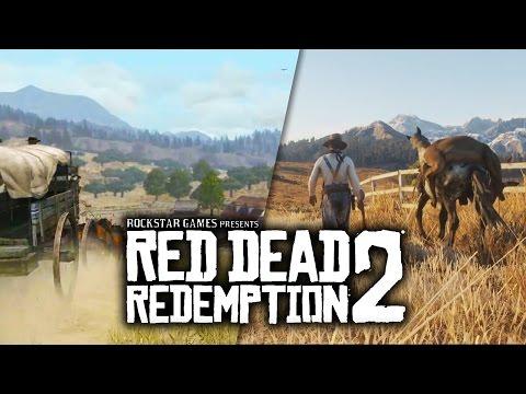 Red Dead Redemption 2 VS Red Dead Redemption Graphics Comparison Trailer vs Trailer Tribute