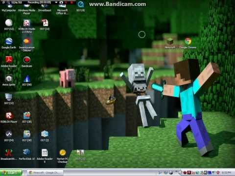 How to get the Minecraft desktop icon for Windows Computers