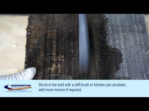 Oxalic Acid - How to use oxalic acid