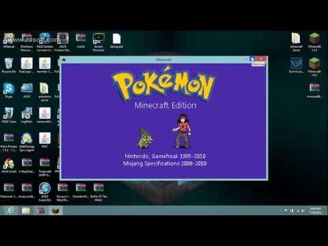Minecraft How to install Pixelmon mod 2.2.1
