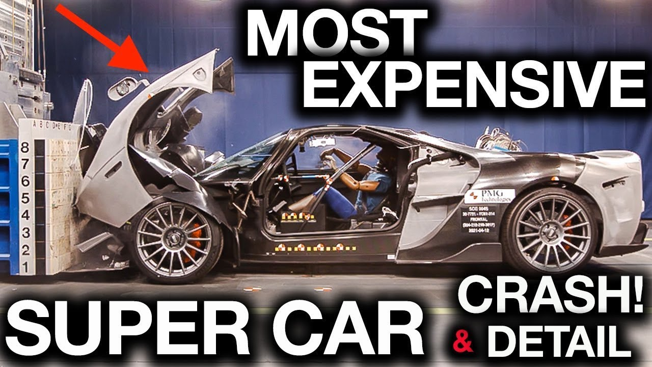 Most Expensive Super Car Detail and Crash Ever!