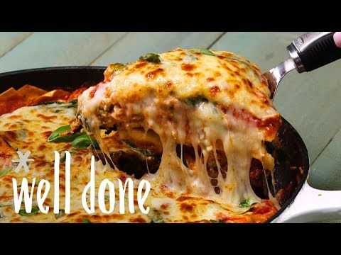Skillet Spinach Lasagna: A Modern Spin On An Italian Comfort Food Classic | Recipe | Well Done