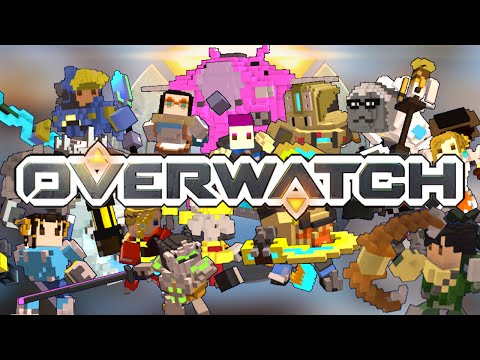 OVERWATCH COSTUME PACK FOR TROVE! ..TROVERWATCH