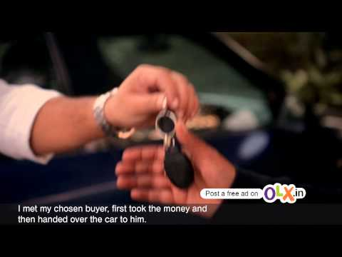 Varun's OLX Story about selling his car