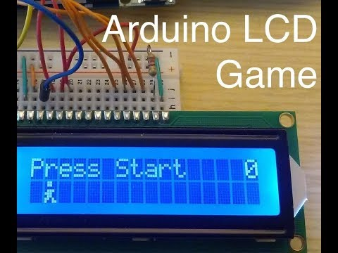 CREATE A SIMPLE VIDEO GAME || ARDUINO (with program)