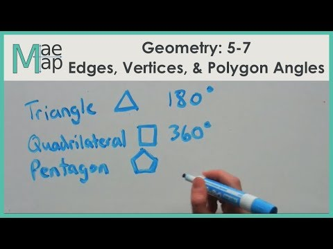 Geometry: 5-7 Edges, Vertices, and Polygon Angle Measures