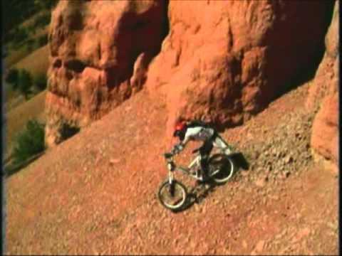 extreme mountain bike crashes, jumps and stunts