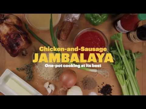Best Chicken and Sausage Jambalaya Recipe Ever
