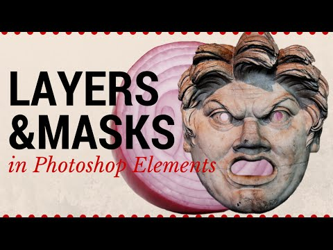 Intro to Layers & Masks in Photoshop Elements