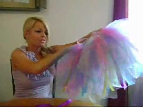 How to Make a No Sew Tutu!