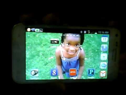 Samsung Galaxy S2 Screenshot with new 4.0.4 upgrade