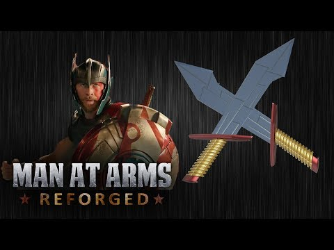 Thor's Dual Swords - Thor: Ragnarok - MAN AT ARMS: REFORGED