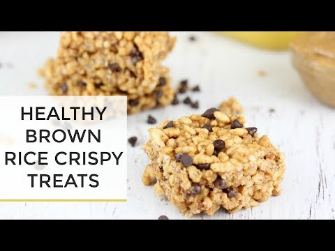 Brown Rice Crispy Treats Recipe | LIVE