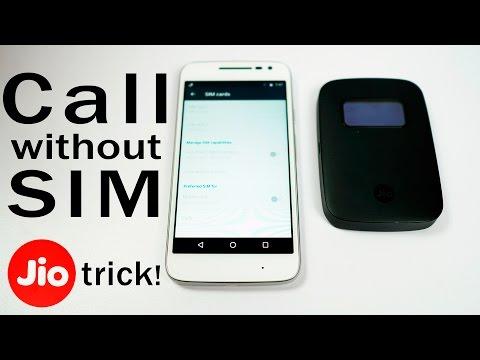 JioFi 2 Trick- Use Jio as 3rd SIM on dual-SIM phones! (or Call without SIM)