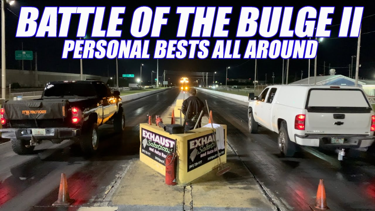 I Spent Thousands $$ On My Duramax Only To be Beaten By This! Turbo Crown Vic Hits The Track!