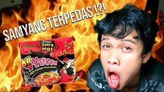 KALAH ?! MAKAN SAMYANG EXTRA HOT LAH !!! - AYO TAHAN TAWA #23
