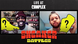 Sheck Wes vs Chase B In A Sneaker Battle From Home | #LIFEATCOMPLEX