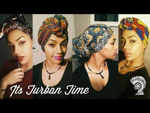 It's Turban Time! Headwrap Tutorial