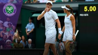 Jamie Murray & Martina Hingis win Wimbledon 2017 mixed doubles