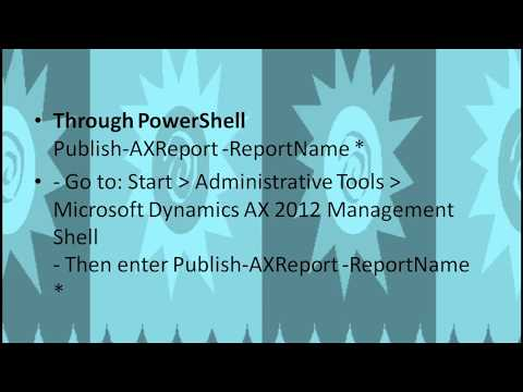 Best 3 Ways for SSRS Report Deployment in Ax 2012 | Step by step SSRS Report deployment