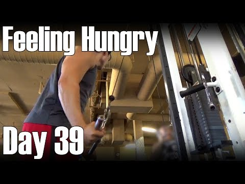 Feeling Hungry-  Chest, Tricep and Ab Workout- Day 39 of Losing 16 Pounds in 2 Months