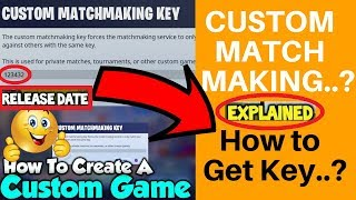 How to get custom matchmaking in fortnite