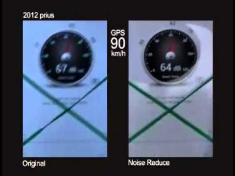 2013 prius NVH test @ 90km/h