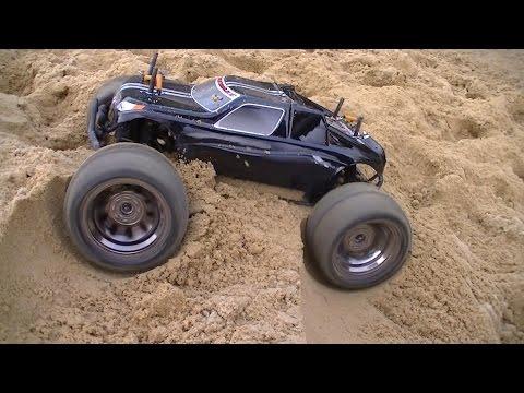 HPI Bullet ST/MT Flux - Car Park CVD Test 2s LiPo - RC Car Club