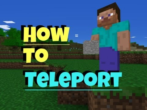 ✔ Minecraft PE - How to Teleport