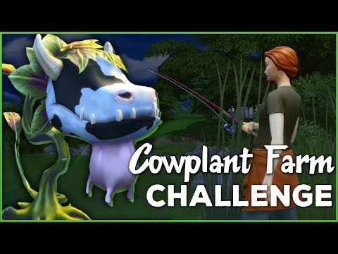 A Peaceful Night of Ghosts, Fishing, and Frogs! 🐄🌱 Sims 4 Cowplant Farm: Episode #10