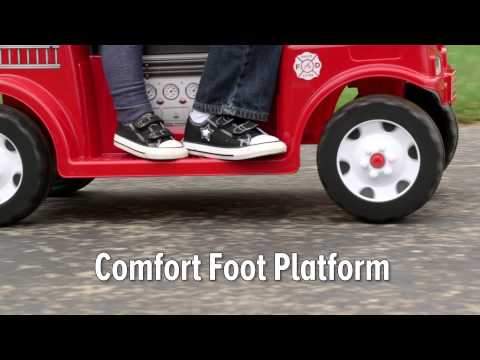 Radio Flyer - Battery Powered Fire Truck for 2