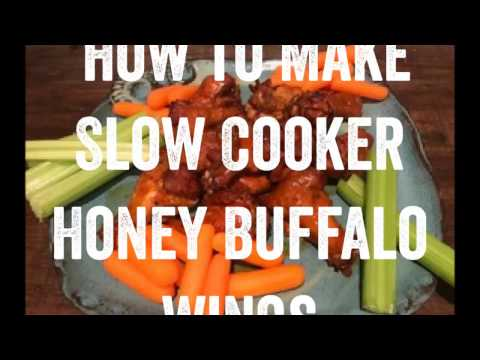 How to Make Slow Cooker Honey Buffalo Wings