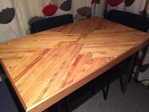 Pallet dinner table