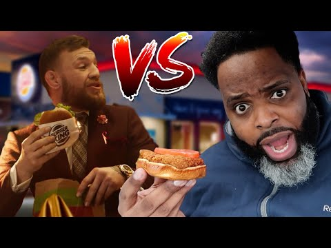 Food Review Hype: Daym Drops VS Conor McGregor BK Style