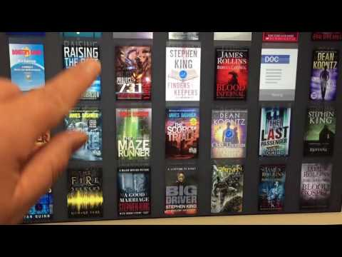 Managing collections on iPad with Kindle app v5.1