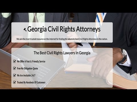Best Civil Rights Attorney In Georgia