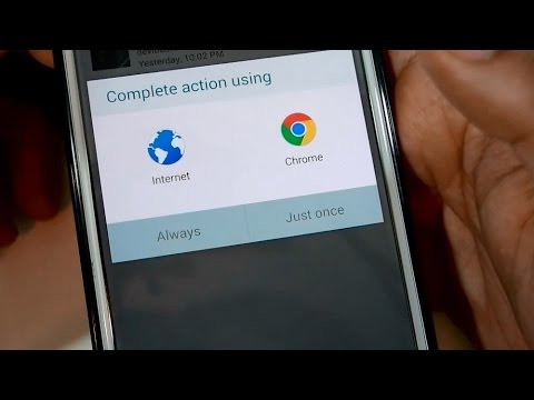 How To Clear Default Apps on Samsung Galaxy Note 4