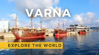 🇧🇬 VARNA Gulf Boat Cruise | Black Sea, Bulgaria | 4K HDR 60fps