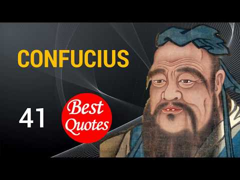 🔴 The 41 Best Quotes by Confucius ✅