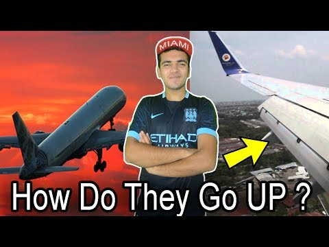 How Do Airplanes Fly & Working Of Flaps ! Explained Quickly In HINDI