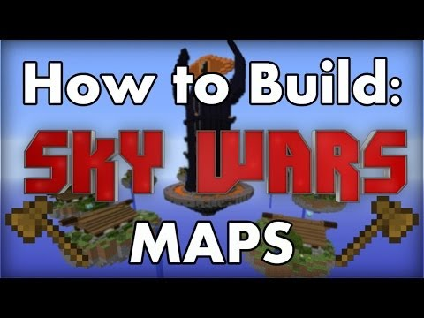 Minecraft: How to build SkyWars maps! 1.7.4