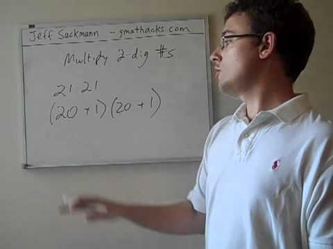 Mental Math: Multiplying Two-Digit Numbers