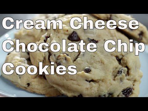 Cream Cheese Chocolate Chip Cookie Recipe - Le Gourmet TV Recipes
