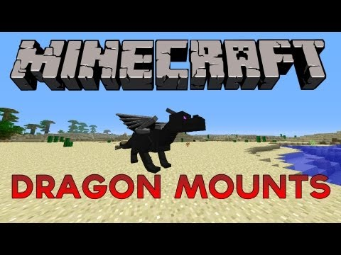 Minecraft 1.2.5 - Dragon Mounts Mod (Ender Egg, Flyable Dragons and more!)