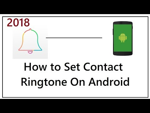 How to Set Contact Ringtone On Android Phones 2018