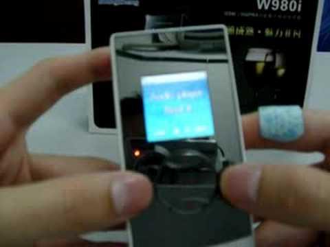 W980i  Sony Ericsson look alike