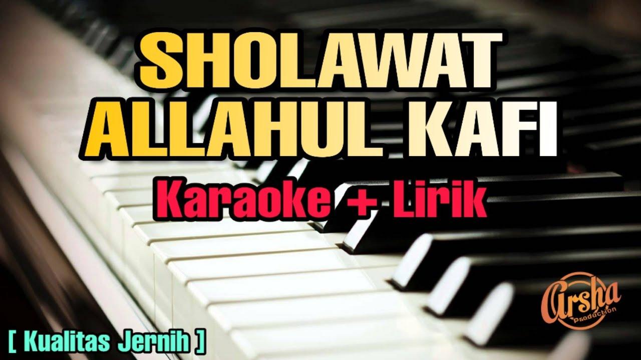 Karaoke ALLAHUL KAFI ( Karaoke   Lirik ) Kualitas Jernih