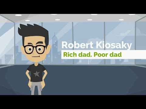 Rich Dad Poor Dad by Robert Kiyosaki - ANIMATED BOOK REVIEW